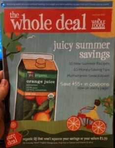 Whole Foods Coupon Book