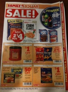 Family Dollar Flyer with Store Coupons