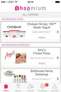 shopmium couponing app